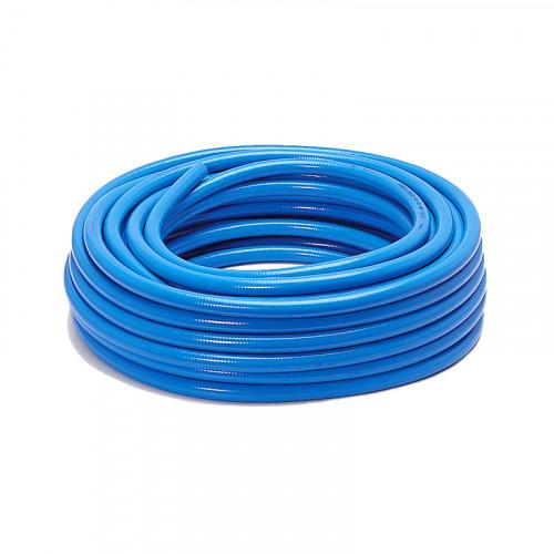 Furtun PVC cu insertie, rola 25m, albastru